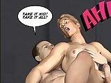 cartoon, gay, sex, spanking, stud, twink